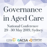 COTA + ACSA Governance in Aged Care Conference @ Sydney Boulevard Hotel | Woolloomooloo | New South Wales | Australia