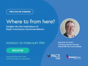 Where to from here? -  Insights into the implications of Royal Commission recommendations