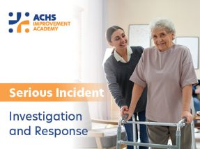 Serious Incident Investigation and Response – Interactive Training