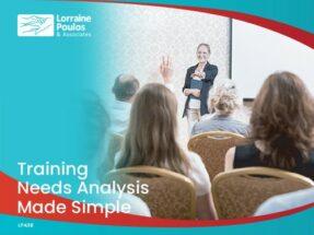 Training Needs Analysis Made Simple @ Online via Zoom